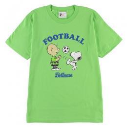 18スヌーピーTシャツ(チャーリー&スヌーピー)キッズサイズ